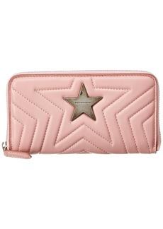 Stella Mccartney Stella Star Zip Around Wallet