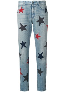 Stella McCartney Stars skinny boyfriend jeans - Blue