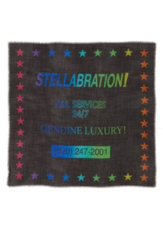 Stella McCartney Stellabration Wool & Silk Scarf
