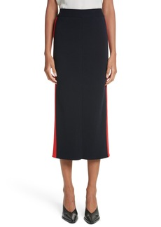 Stella McCartney Stripe Cotton Skirt