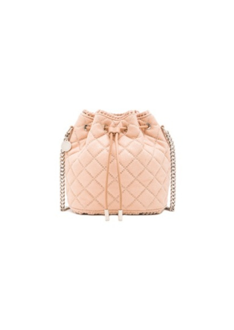 Stella McCartney Studded Quilted Bucket Bag