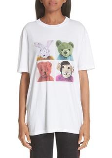 Stella McCartney Stuffed Animal Graphic Tee