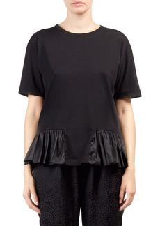 Stella McCartney Taffeta Trim T-Shirt