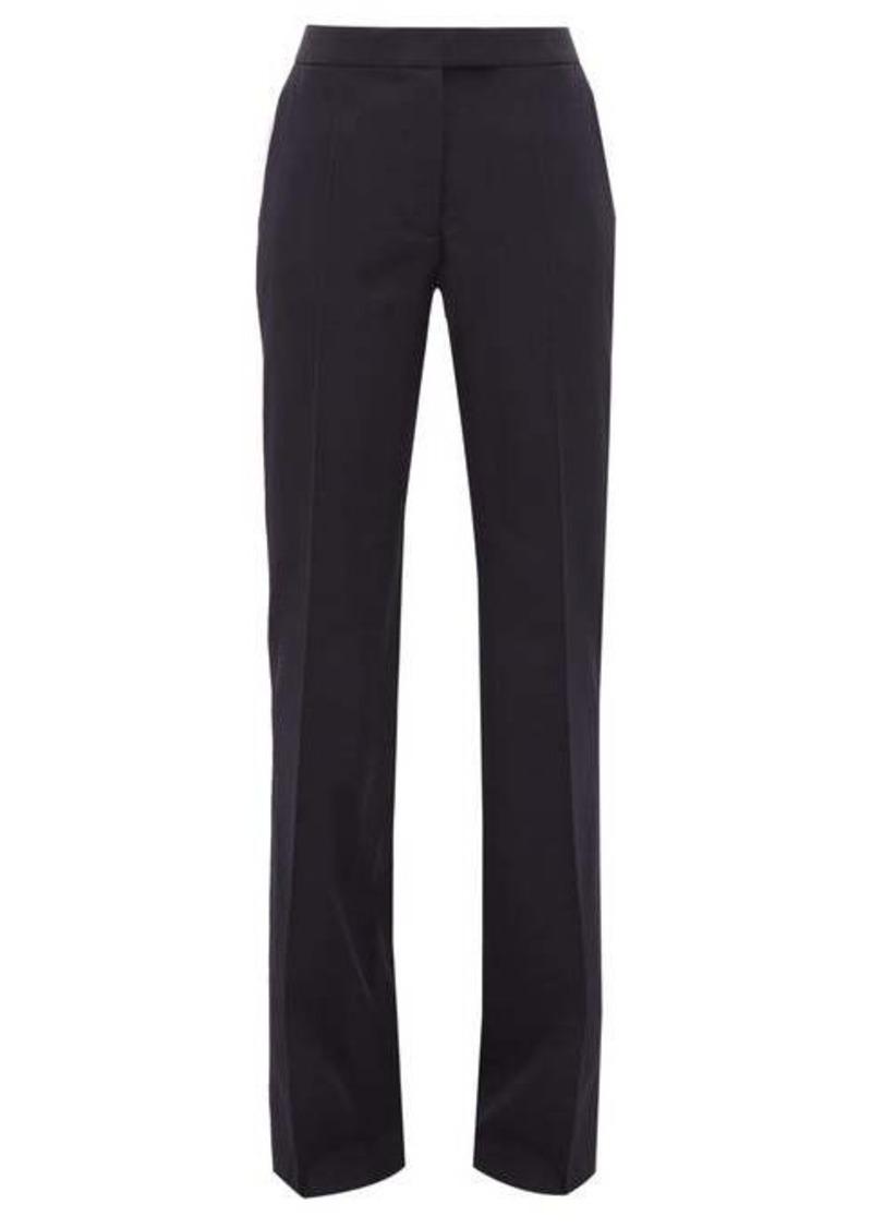 Stella McCartney Tailored wool straight-leg trousers