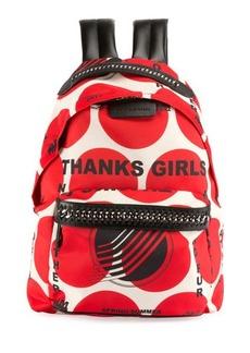 Stella McCartney Thanks Girls Chain-Trim Mini Backpack