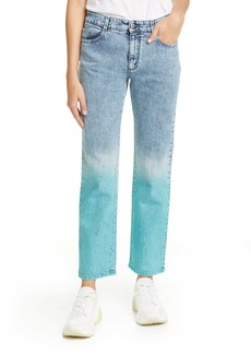 Stella McCartney The Straight Dip Dye Boyfriend Jeans