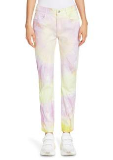 Stella McCartney Tie Dye Skinny Boyfriend Jeans