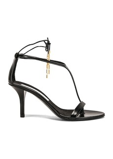 Stella McCartney Tie Heeled Sandals