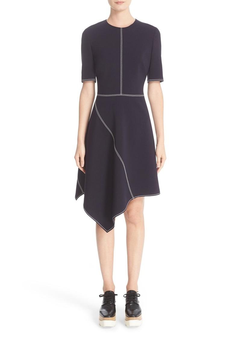 Stella Mccartney Topsch Asymmetrical Dress