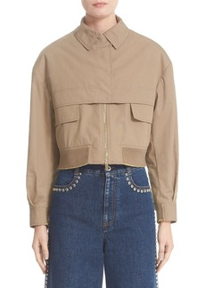 Stella McCartney Trench Bomber Jacket