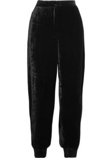 Stella McCartney Velvet track pants