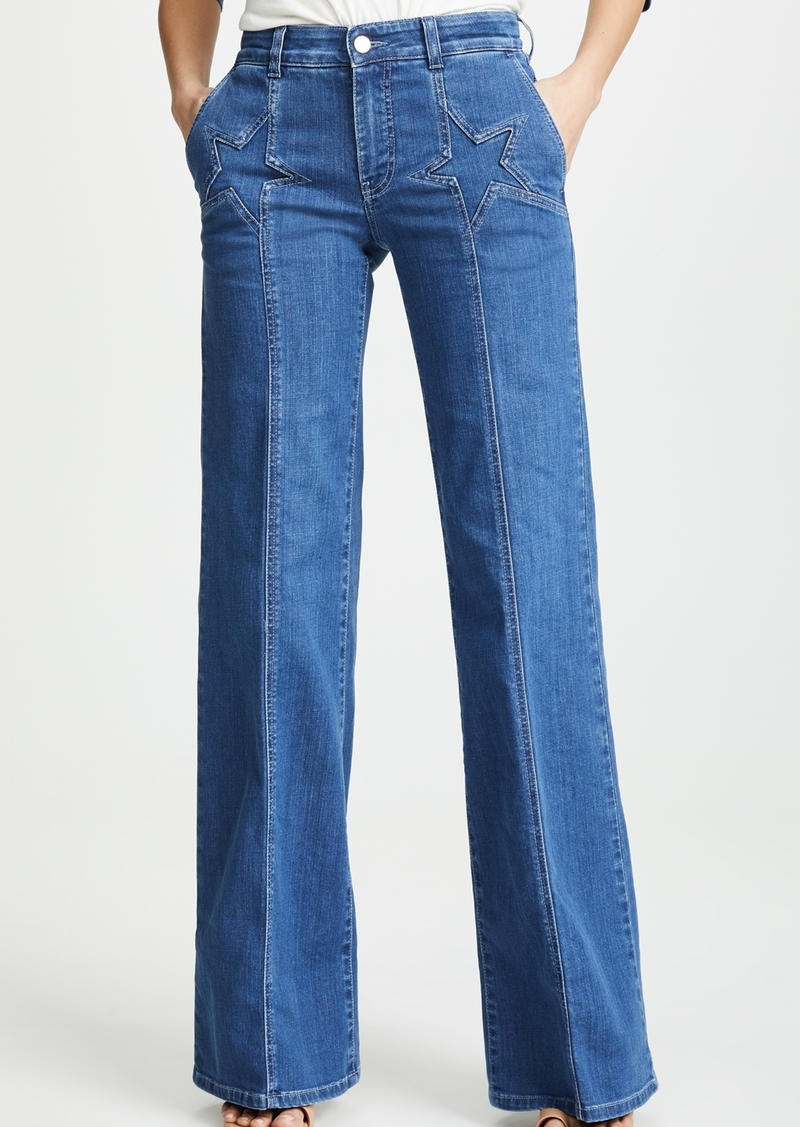 Stella McCartney Wide Leg Jeans