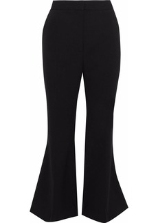 Stella Mccartney Woman Angela Stretch-wool Kick-flare Pants Black