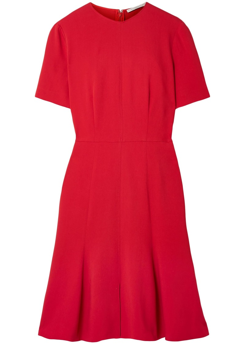 Stella Mccartney Woman Cady Dress Red