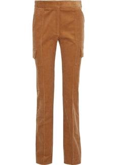 Stella Mccartney Woman Cotton-corduroy Bootcut Pants Sand