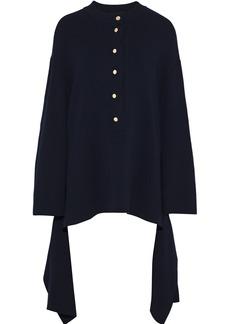 Stella Mccartney Woman Cotton Sweater Navy