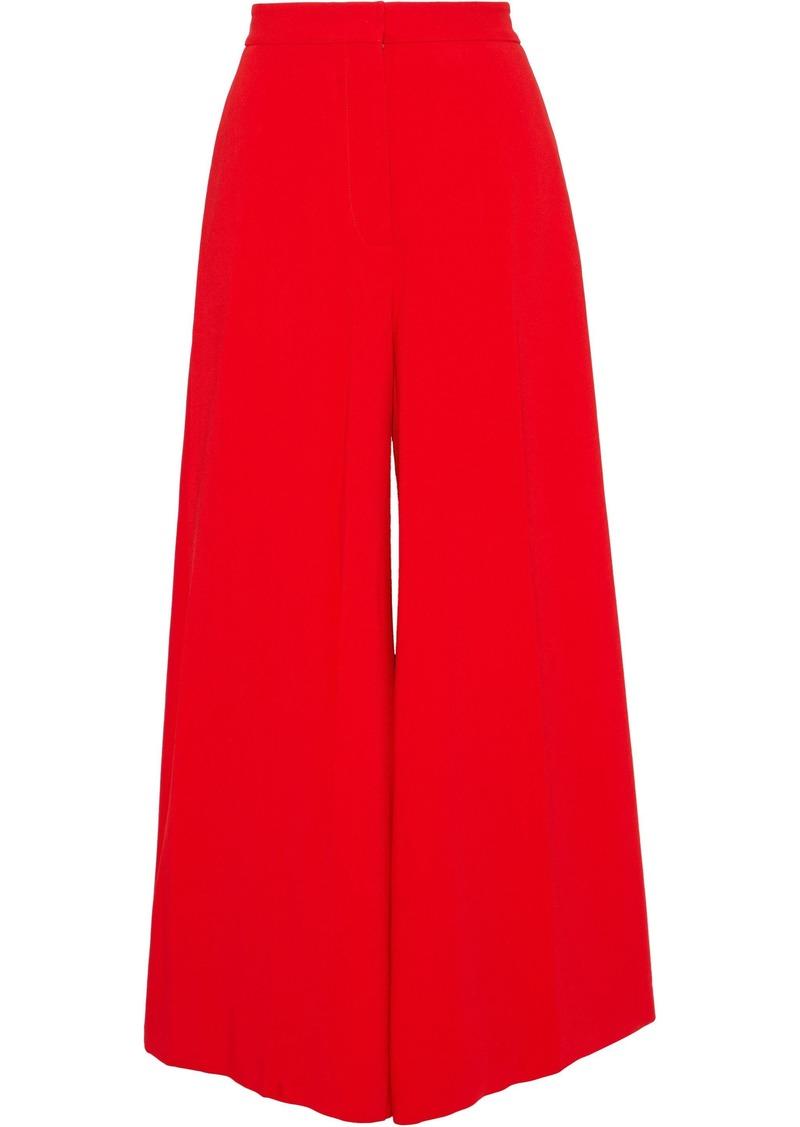 Stella Mccartney Woman Cady Wide-leg Pants Red