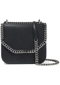 Stella Mccartney Woman Falabella Box Medium Faux Leather Shoulder Bag Black