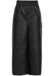 Stella Mccartney Woman Faux Leather Culottes Black