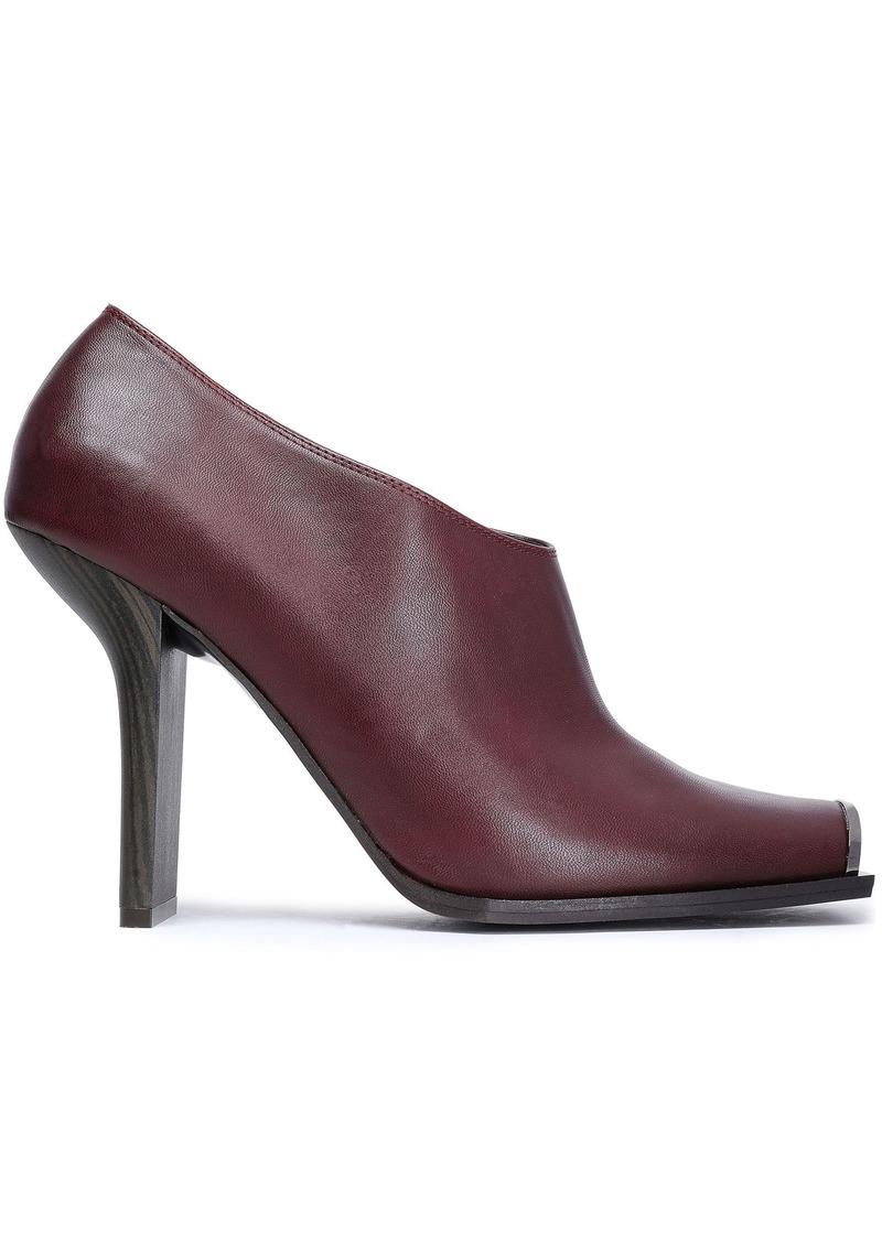 Stella Mccartney Woman Faux Leather Pumps Merlot