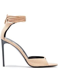 Stella Mccartney Woman Faux Suede Sandals Blush