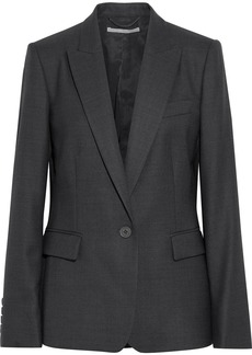 Stella Mccartney Woman Iris Wool Blazer Dark Gray