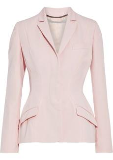 Stella Mccartney Woman Janiyah Wool-twill Blazer Pastel Pink