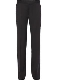 Stella Mccartney Woman Jasmine Wool-twill Straight-leg Pants Black