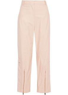 Stella Mccartney Woman Jaylyn Cotton-blend Straight-leg Pants Blush