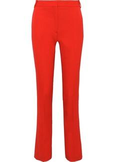 Stella Mccartney Woman Jodi Wool-twill Slim-leg Pants Papaya