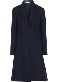Stella Mccartney Woman Katie Wool-twill Coat Midnight Blue