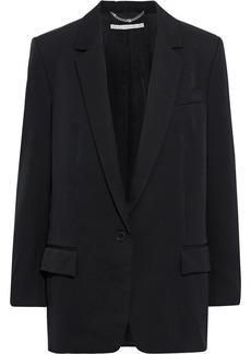 Stella Mccartney Woman Miah Wool-twill Blazer Black