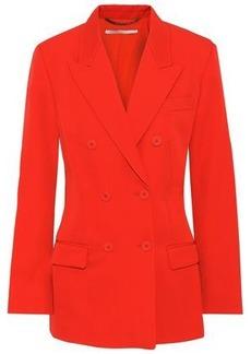 Stella Mccartney Woman Nicola Double-breasted Wool-twill Blazer Tomato Red