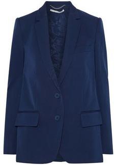 Stella Mccartney Woman Raphaela Wool-twill Blazer Royal Blue