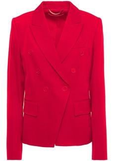Stella Mccartney Woman Robin Double-breasted Wool-twill Blazer Red
