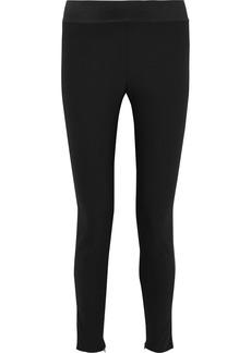 Stella Mccartney Woman Stretch-cotton Skinny Pants Black