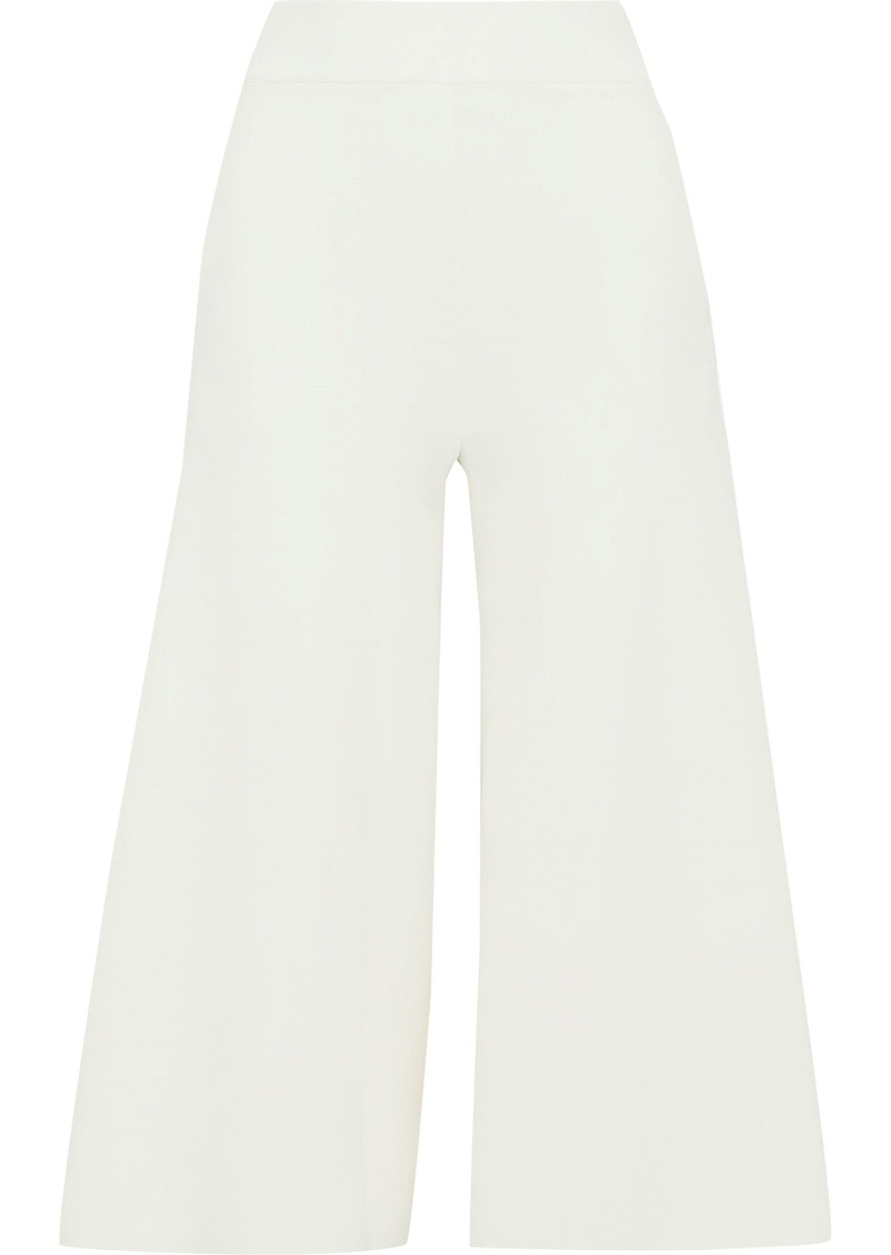 Stella Mccartney Woman Stretch-knit Culottes Off-white