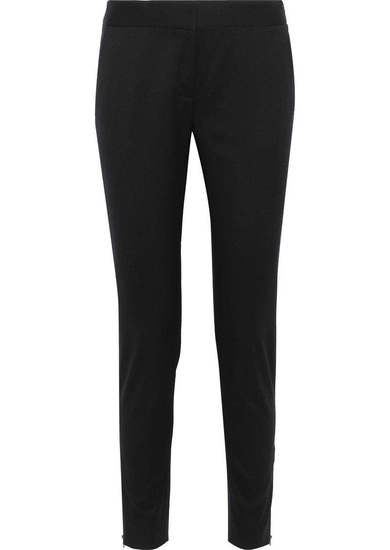 Stella Mccartney Woman Vivian Wool-twill Slim-leg Pants Black