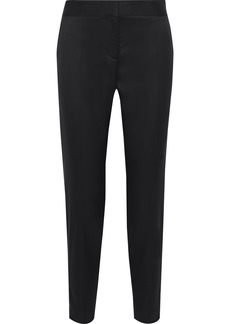 Stella Mccartney Woman Vivian Wool-twill Tapered Pants Black