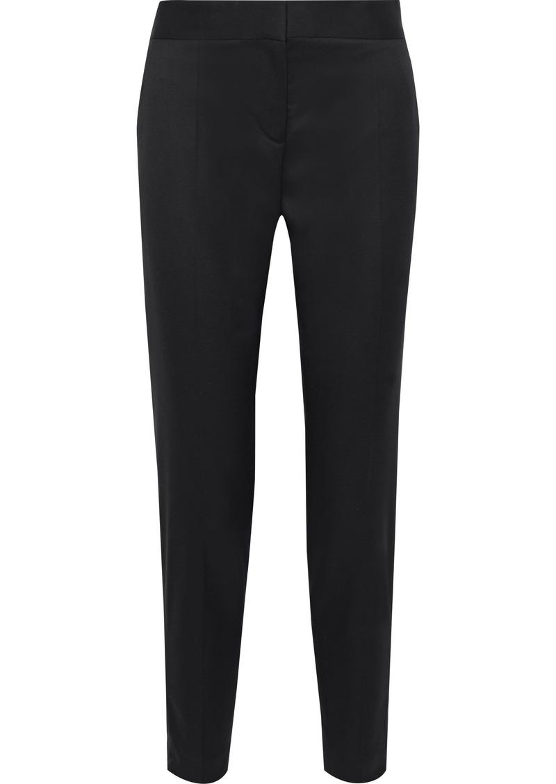Stella Mccartney Woman Wool-twill Tapered Pants Black