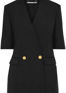 Stella Mccartney Woman Wool And Mohair-blend Twill Blazer Black
