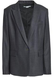 Stella Mccartney Woman Wool Blazer Dark Gray