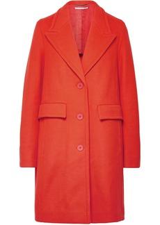 Stella Mccartney Woman Wool-blend Coat Tomato Red