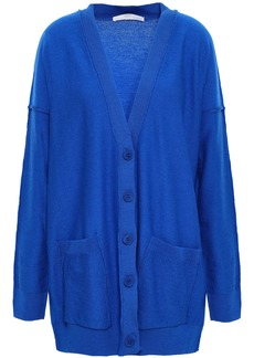 Stella Mccartney Woman Wool Cardigan Blue