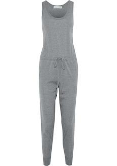 Stella Mccartney Woman Wool-jersey Jumpsuit Gray