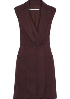 Stella Mccartney Woman Wool Mini Dress Burgundy