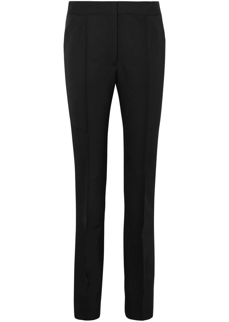 Stella Mccartney Woman Wool Slim-leg Pants Black