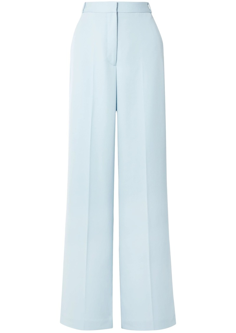 Stella Mccartney Woman Wool Straight-leg Pants Sky Blue