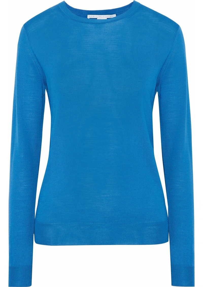 Stella Mccartney Woman Wool Sweater Azure