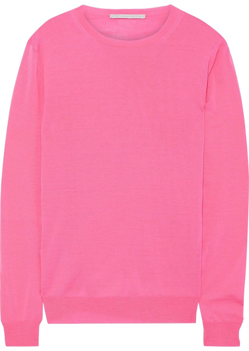 Stella Mccartney Woman Wool Sweater Bright Pink